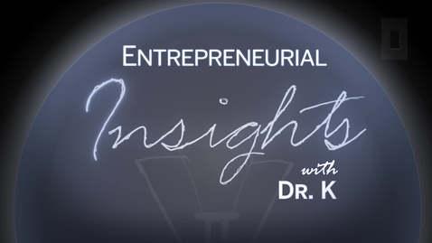 Thumbnail for entry Entrepreneurial Insights - Cathy Langham
