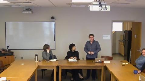 "Thumbnail for entry 02/11/2019 Colloquium Series - Jessica Eaglin: ""Sentencing's Technological Counternarrative"""
