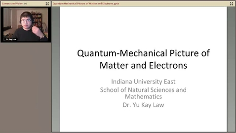 Thumbnail for entry Quantum-Mechanical Picture of Electrons