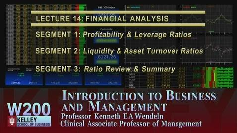 Thumbnail for entry W200 14-1 Profitability & Leverage Ratios