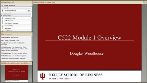 Thumbnail for entry dwoodhou MP4s_C522 Woodhouse_C522 Woodhouse Module 1 Overview