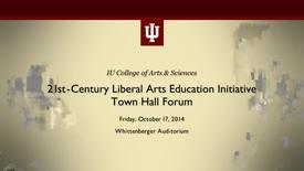 Thumbnail for entry COAS - 21st Century Liberal Arts Education Initiative