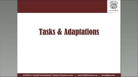 Thumbnail for entry Webinar Series for Edu Environments_2. Tasks and Adaptations