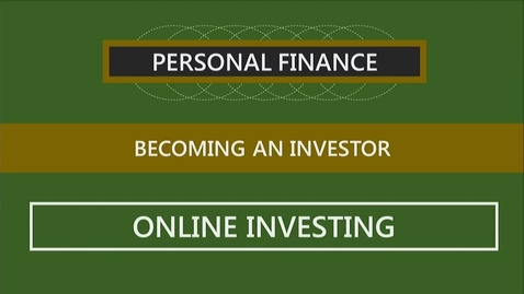Thumbnail for entry F251 11-3 Online Investing