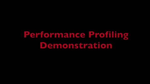 Thumbnail for entry L3 Performance Demo