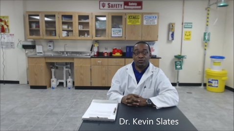 Thumbnail for entry Introduction to the Industrial Hygiene Laboratory Instructional Videos by Dr. Kevin Slates (OSH)