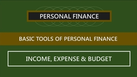 Thumbnail for entry F260_Lecture 02-Segment 2_Income, Expenses & Budgets