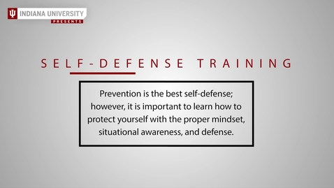 Thumbnail for entry Self-Defense