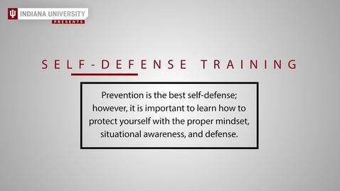 Thumbnail for entry Self-Defense