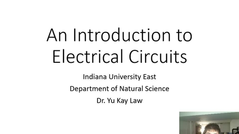 Thumbnail for entry An Introduction to Electrical Circuits