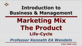 Thumbnail for entry W200_Lecture 16-Segment 1: Product Life Cycle