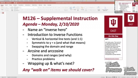 Thumbnail for entry SP20 M126 Supplemental Instruction Module 2 Session 4