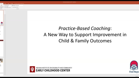 Thumbnail for entry Coaching Webinar