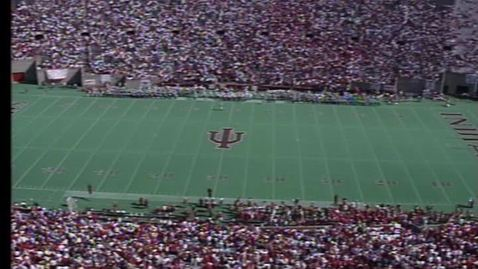 Thumbnail for entry 1992-10-24 vs Wisconsin - Halftime (Homecoming)