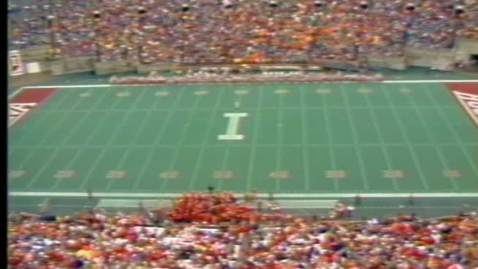 Thumbnail for entry 1985-10-19 vs Minnesota - Halftme (Homecoming)