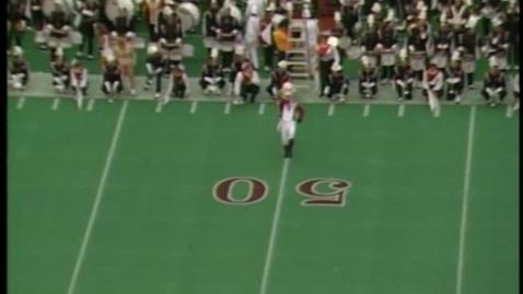 Thumbnail for entry 1990-09-22 vs Missouri - Halftime