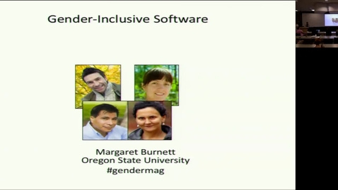 Thumbnail for entry examining websites and software to identify possible gender bias for end-users