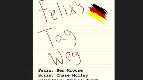 Thumbnail for entry 2014: Felix' Tag Weg (Edgewood High School)