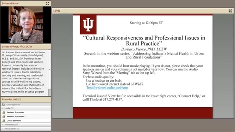 Thumbnail for entry CPDLL-Cultural-Responsiveness-in-Rural-Practice.mp4