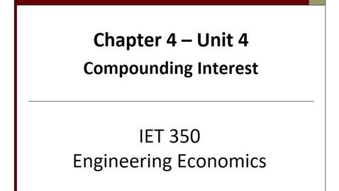 Thumbnail for entry IET 350 - Unit4.4