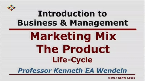 Thumbnail for entry X100_Lecture 16-Segment 1_Life Cycle (Product)