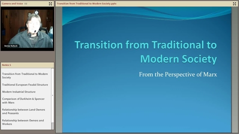 Thumbnail for entry Transition from Traditional to Modern Society