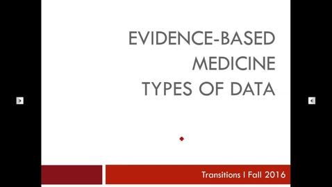 Thumbnail for entry Transitions I Types of Data 160815 Kreisle