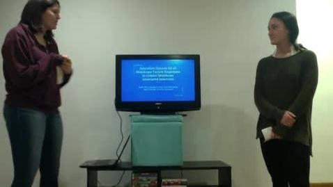 Thumbnail for entry Video presentation team M
