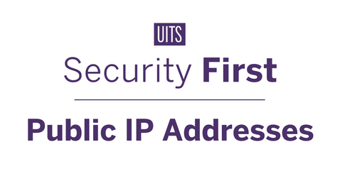 Thumbnail for entry Public IP Addresses