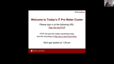 Thumbnail for entry IT Pro Water Cooler - June 2017 - Security, Pt. 1