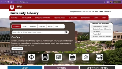 Thumbnail for entry How to Find 3 Scholarly Articles