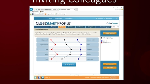 Thumbnail for entry CIBER Pedagogy: Using the GlobeSmart Profile Tool