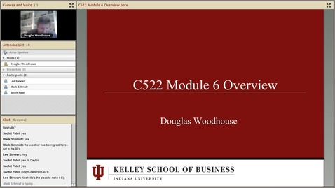 Thumbnail for entry dwoodhou MP4s_C522 Woodhouse_C522 Woodhouse Module 6 Security Overview