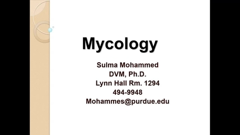 Thumbnail for entry WL - HD - 170309 - Mohammed - Mycology