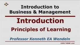 Thumbnail for entry X100_Lecture 01-Segment 1_Principles of Learning