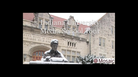 Thumbnail for entry Indiana University Media School Tour