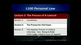 Thumbnail for entry L100 03-2 The Process for Civil Cases