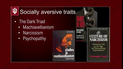 Thumbnail for entry M02V06 The Dark Triad