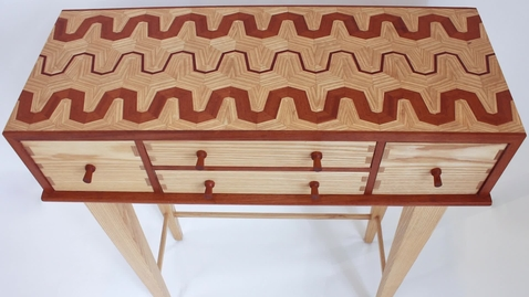 Thumbnail for entry IUPUI: Making a Scene: Furniture Design at Herron