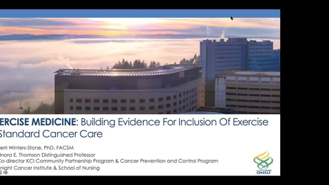 Thumbnail for entry IUSCCC_Grand_Rounds,_November_13,_2020-_Kerri_Winters-Stone,_PhD__Exercise_Medicine _Building_Evidence_for_Inclusion_of_Exercise_in_Standard_Cancer_Care___(Source)