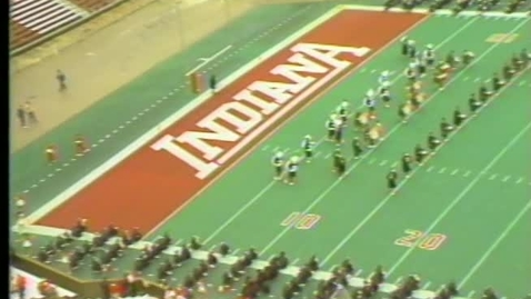 Thumbnail for entry 1985-10-19 vs Minnesota - Pregame (Homecoming)