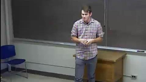 Thumbnail for entry Kevin Behan - Invitational Speech