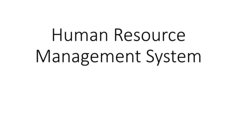 Thumbnail for entry HRMS - Accessing the Human Resource Management System