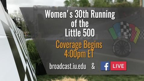 Thumbnail for entry IUSF Little 500 Women's Race