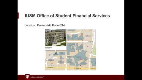 Thumbnail for entry WL | Lunch and Learn | 160921 | Espada | IUSM Student Financial Services