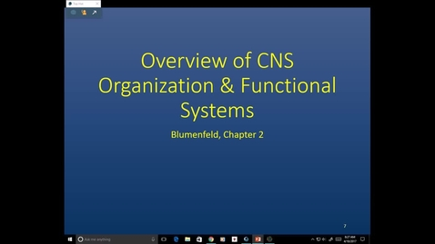 Thumbnail for entry Evv-NB-CNS Overview- 2017 Apr 10 09:57:35