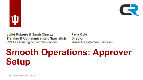 Thumbnail for entry Smooth Operations: Approver Setup