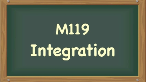 Thumbnail for entry integration