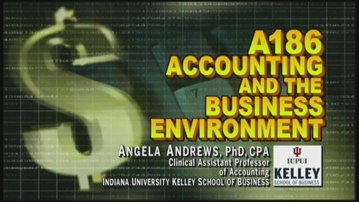 Thumbnail for channel A186 Accounting & the Business Environment