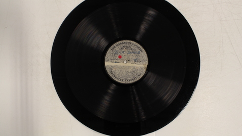 Thumbnail for entry Michigan folk songs, Series II, disc IX-A and B: [Side 1]